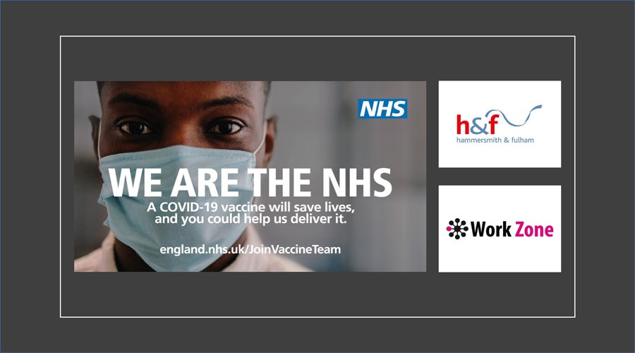 We are NHS advert for recruitment